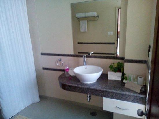 Sangam Hotel, Trichy: Baño