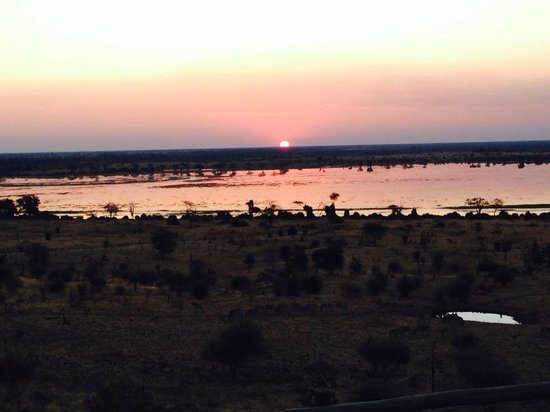 Ngoma Safari Lodge: View from our room