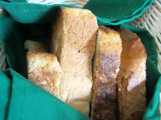 Fredys Tucan: Pan tostado