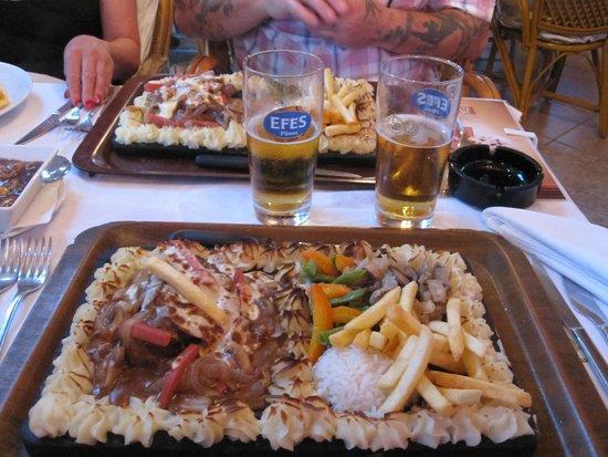 Florida Restaurant & Bar: Florida Plank Steak HUGE