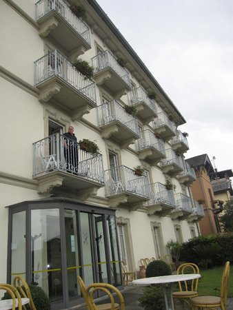 Lario Hotel: The balconies overlooking Lake Como