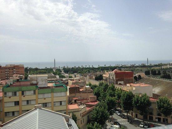 Ilunion Barcelona: vue de la terrasse