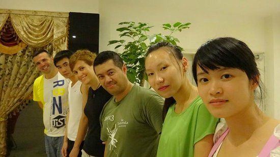 Guilin 68° Hotel North Train Station Branch: Group photo