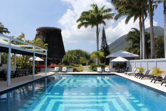 Montpelier Plantation & Beach: Pool and sugar mill