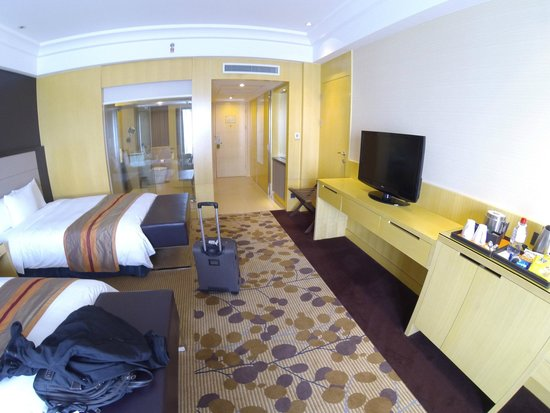 Courtyard by Marriott Shanghai Central: Deluxe Twin Room