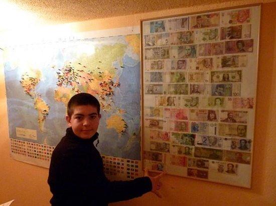 Ferienwohnung Mayer - Casa Patrizia: Mapa de visitantes y dinero del mundo