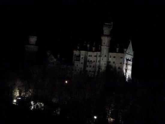 Ferienwohnung Mayer - Casa Patrizia: Neuschwanstein desde el balcon