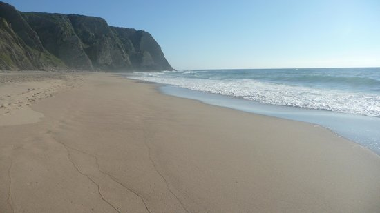 Hotel Arribas: praia grande