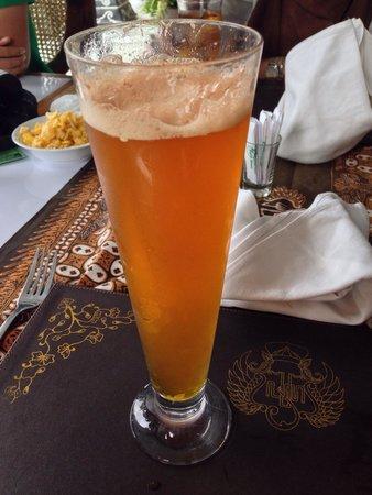 Royal Garden Restaurant: jawa beer must try!!