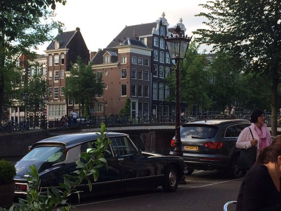 Greenwoods Keizersgracht: From the outside, nice view