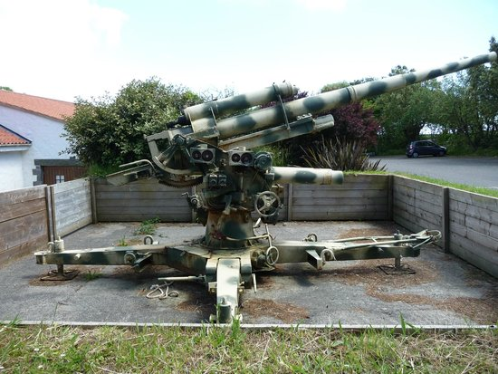 German Occupation Museum: German 88mm Flak Gun