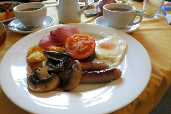 Aberthaw House Hotel: Well-prepared Breakfast