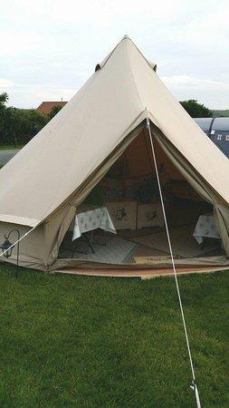 Runswick Bay Caravan and Camping Park: Availble to hire !!!!