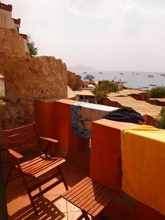 Sharks Bay Umbi Diving Village: Balcony