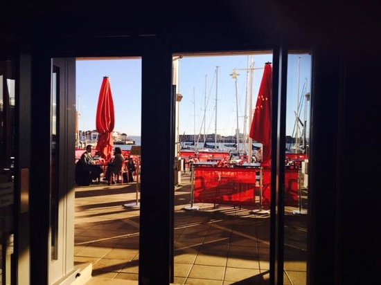 La Tasca Portsmouth: view from terrace
