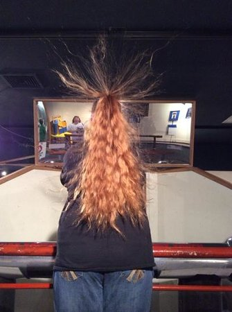 Tommy Bartlett Exploratory: Hair Raising Experience!