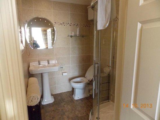Emmet House Bed & Breakfast : Very clean bathroom