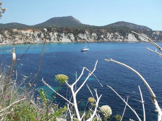 Es Boldado : Cala d Hort, views
