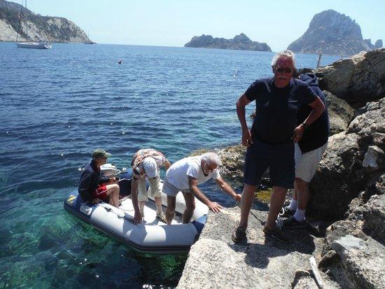 Es Boldado : Just landing from thye boat