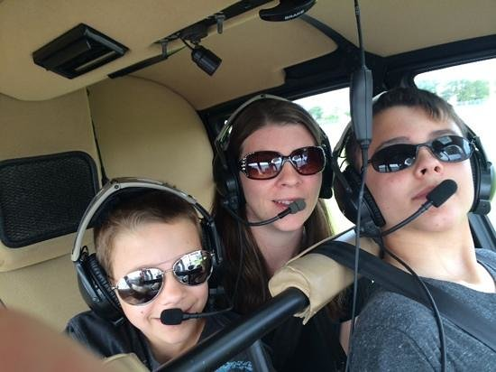 Coastal Helicopters : three of us