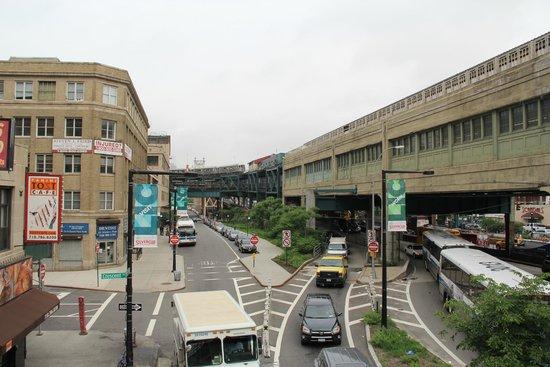 Comfort Inn: Subway station