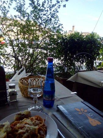 Antica Trattoria Papei: spagetti al ragu di carne