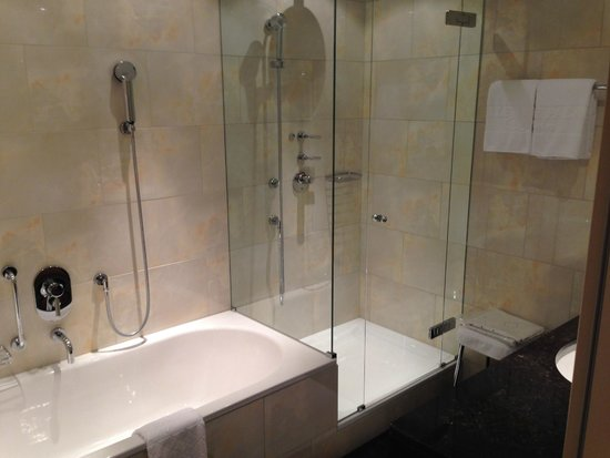 BELLEVUE PALACE Bern: Просторная ванная комната