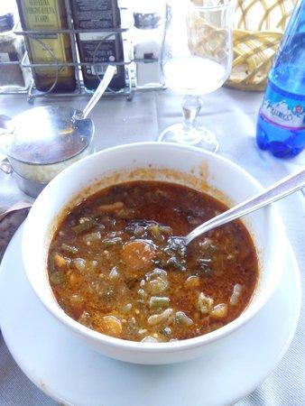 Antica Trattoria Papei: minestrone