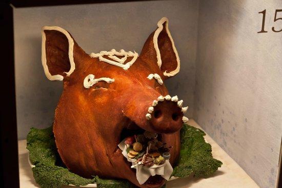 Nordic Museum: ТРАДИЦИИ: голова свиньи