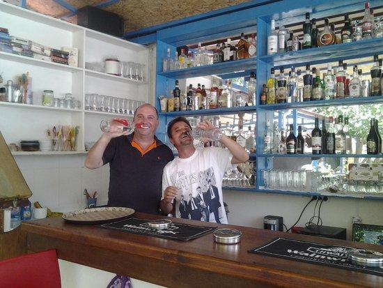 Ocean Restaurant: leon and Hector