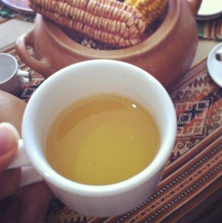 Sonesta Hotel Cusco: Chá de coca para recepcionar os viajantes