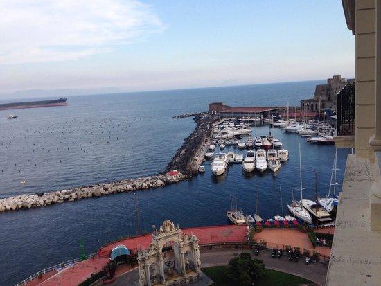 Eurostars Hotel Excelsior : Uitzicht van de kamer