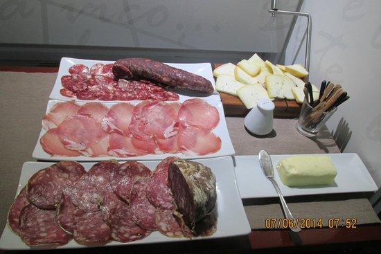 Hotel Santa Brigida : Colazione Hotel