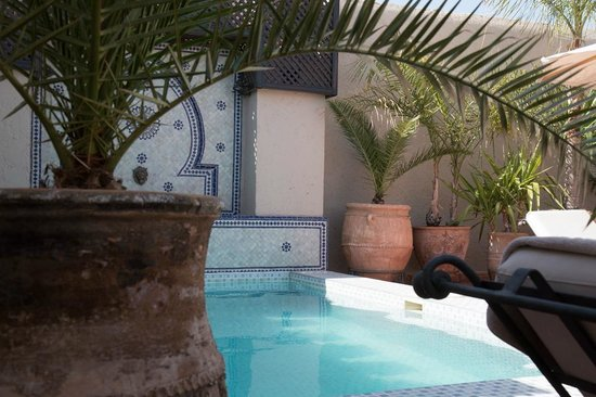 Riad le Clos des Arts : Terrasse