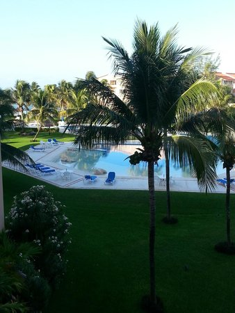 Villas Del Mar: View from our balcony.