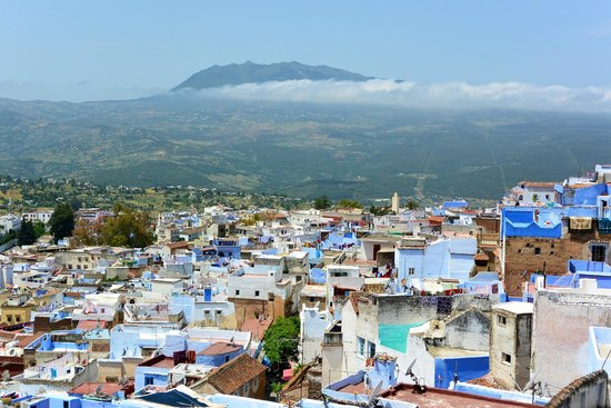 Dar Zambra: View from roof terrace