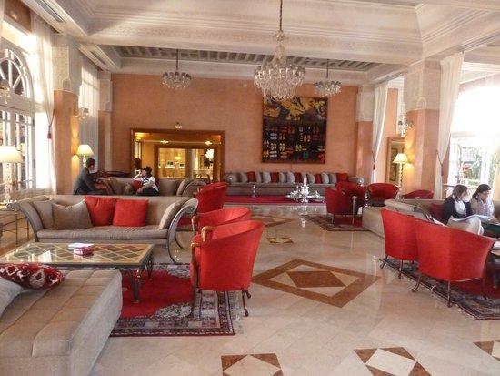 Sofitel Marrakech Palais Imperial: Beautiful Lobby