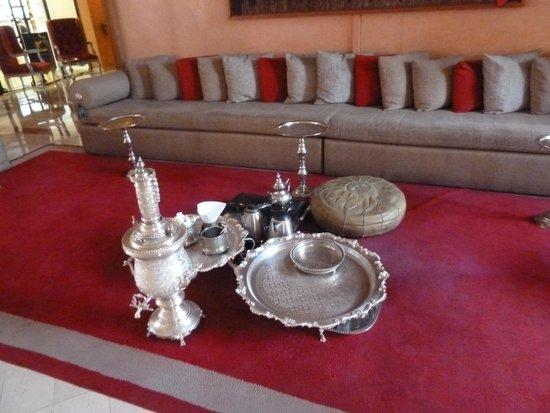 Sofitel Marrakech Palais Imperial : Enjoy Morrocan Tea in the lobby