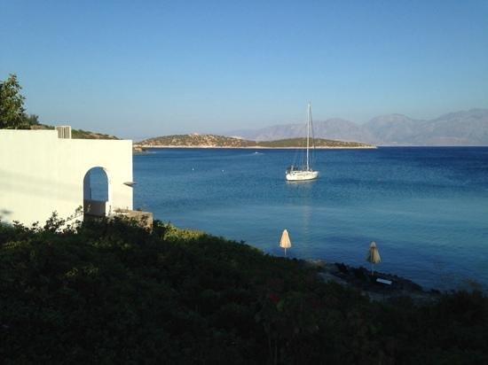 Minos Beach Art hotel: vue