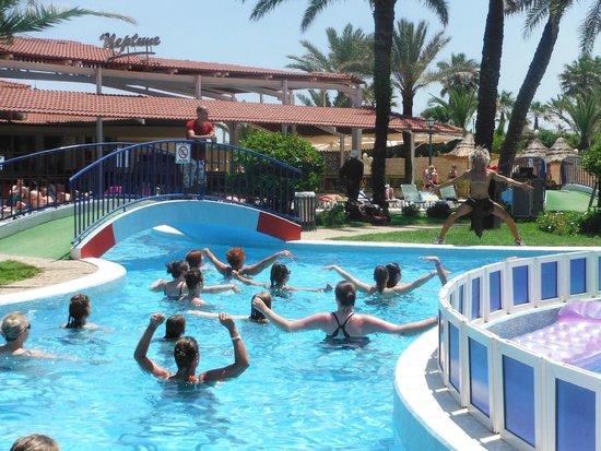 Riadh Palms Hotel: Wodny aerobic