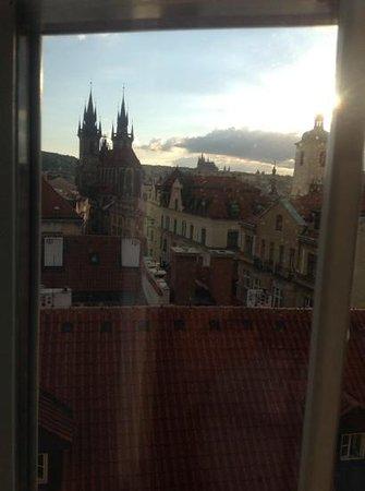 Grand Hotel Bohemia : Ausdicht über die Dächer Prags