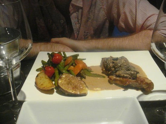Le bistrot de bacchus : Pork & Vegetables