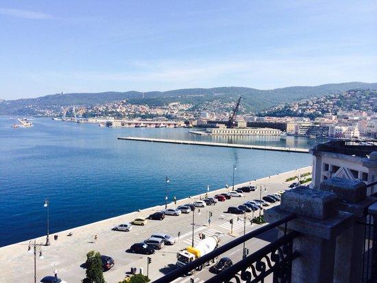 Savoia Excelsior Palace – Starhotels Collezione: Velmi krásny nás výhľad so Sonulkou