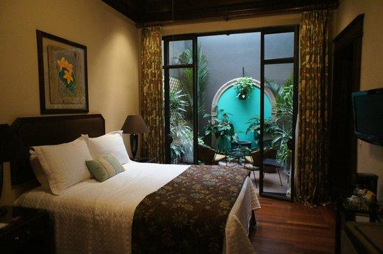 Hotel Grano de Oro San Jose : Deluxe patio room