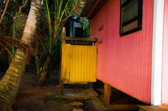 Casa Iguana: Outdoor shower at Grand Casita #2