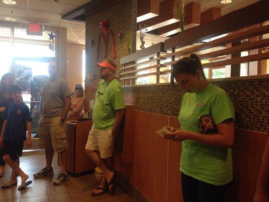 McDonald's : Inside restaurant