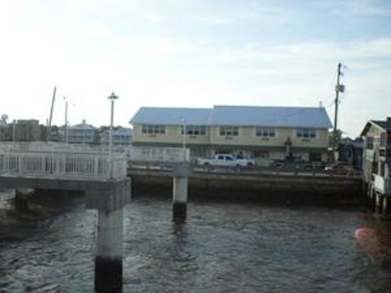 Dockside Hotel : View of Dockside from pier