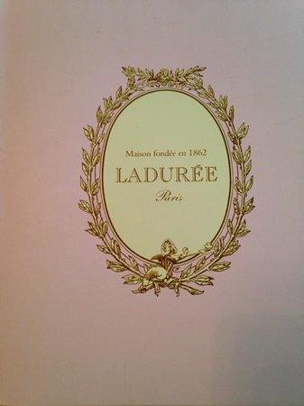 Ladurée : Delious macaroons,lovely colours .