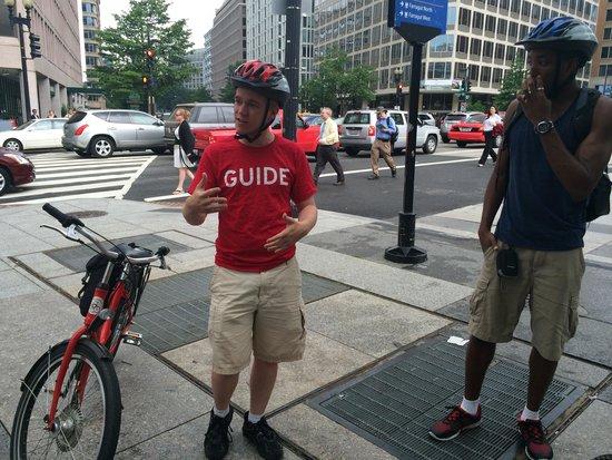 Capital City Bike Tours: Awesome guide Chris