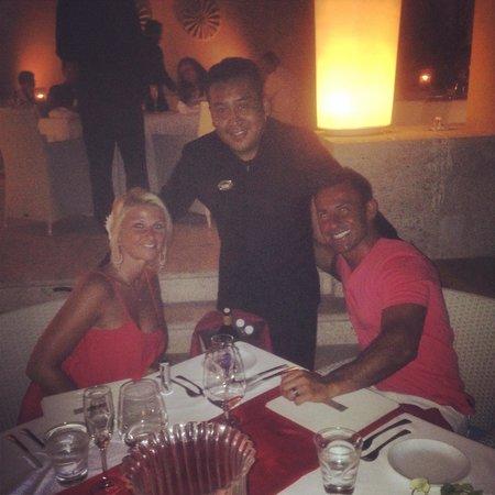 Grand Fiesta Americana Los Cabos All Inclusive Golf & Spa: Best waiter at Italian Paul